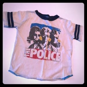 Rowdy Sprout Police tee size 6-12 mo Used